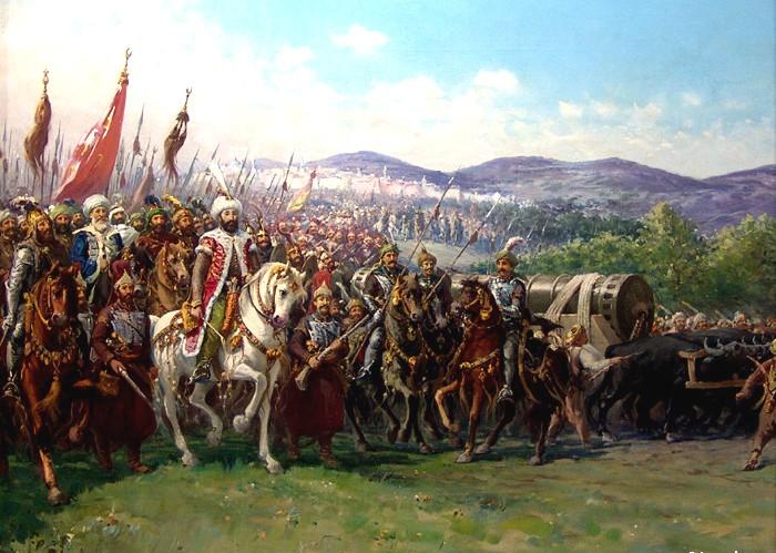 Conquest_of_Constantinople_Zonaro Feth'in 7 Harikası