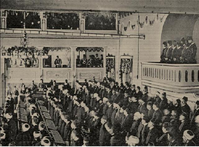 meclis-i-mebusan-1908-ii-abdulhamid-locada_1 1876 Anayasası