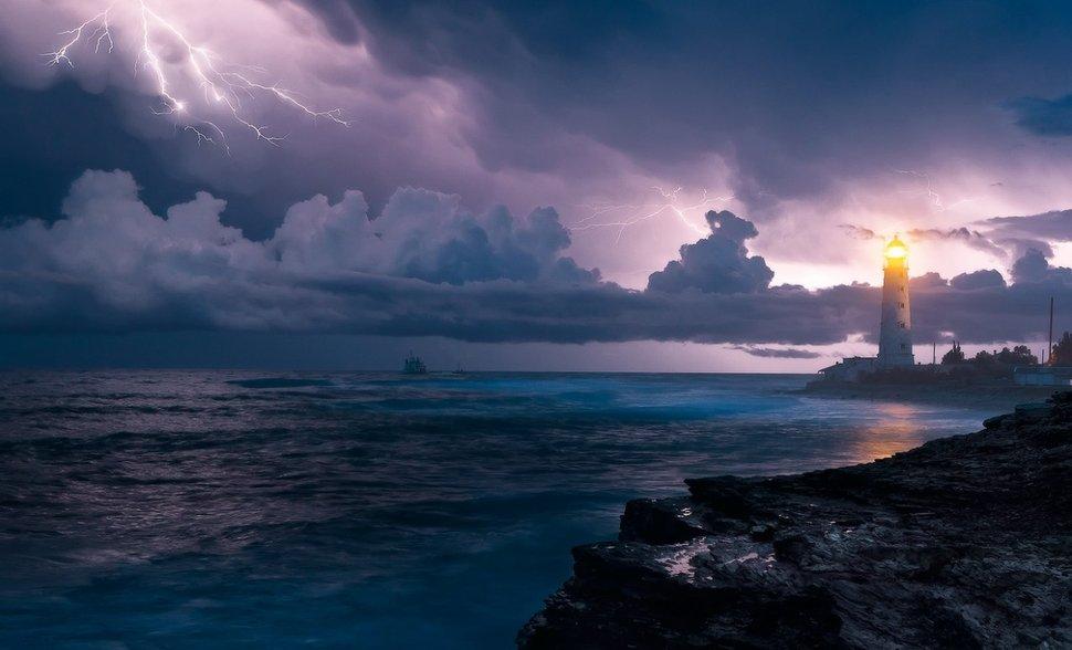 514609__ocean-storm_p İman Şuurunun Hükmetmediği Cemiyette Anarşi ve Vahşet Doğar