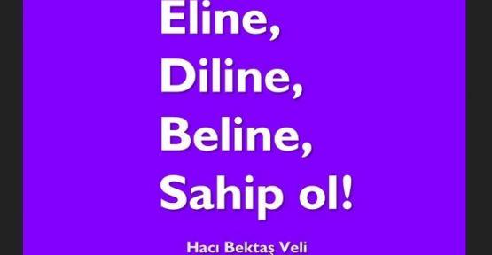 ''Eline,Diline,Beline Sahip Ol''