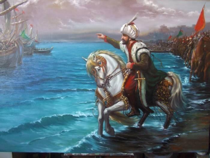 6202_fatihsultanmehmet4 Fatih'in, gemileri niçin karadan yürüttüğünü bilmiyoruz, iyi mi?
