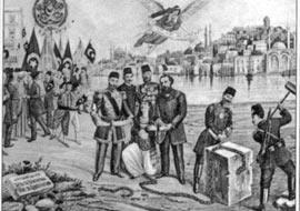 """tanzimat2 Batı'ya yönelen ilk Osmanlı """"aydınları..."""