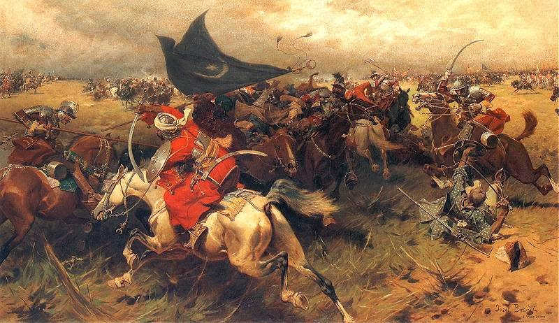 Battle-Over-the-Turkish-Banner.-Probably-16th-17th-century-during-one-of-the-conflicts-between-Polish-Lithuanian-Commonwealth-and-the-Ottoman-Empire Zaferin Serhat Türküsü