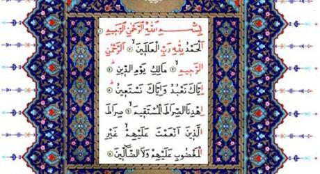 Fatiha-Suresi-460x250 Fatiha Niçin Allah'ın Beş İsmini İhtiva Eder?