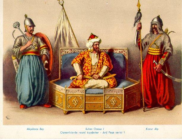 the_sultan_osman_i_by_eduartinehistorise-d78qctl Devlet,İnanç,Millet ve Osmanlı İmparatorluğu