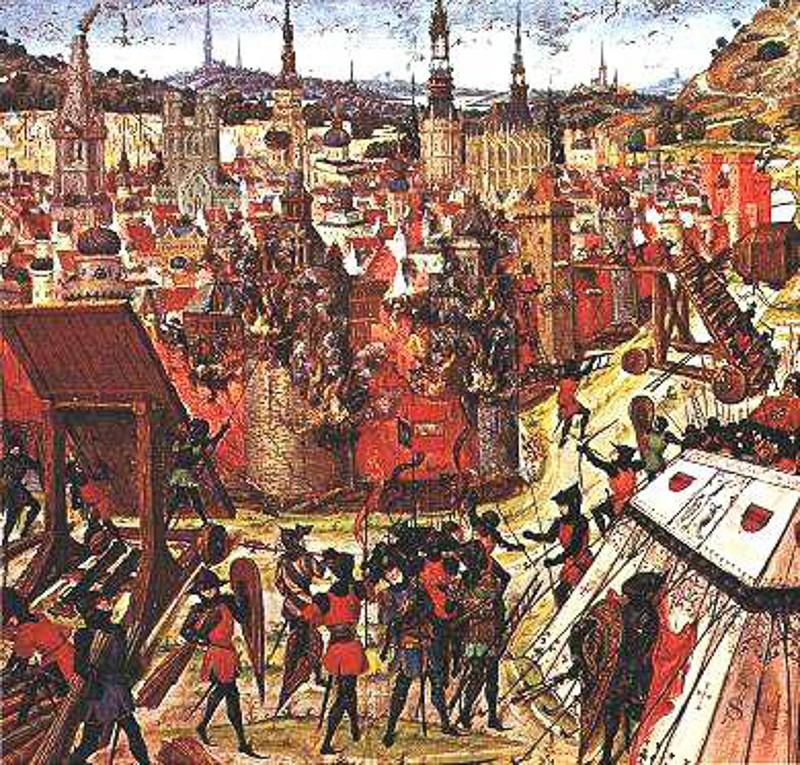 cruzada-2 Avrupa'nın Ortaçağ'ı